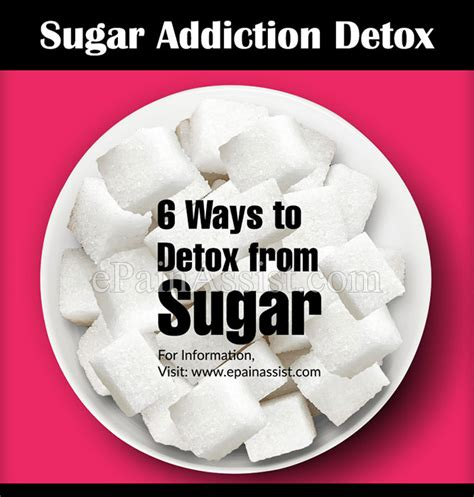 Who Addicts To Detox Them by Sugar Addiction Detox 6 Ways To Detox From Sugar