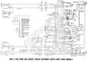 Emergency Dash Lights Ford Truck Technical Drawings And Schematics Section H