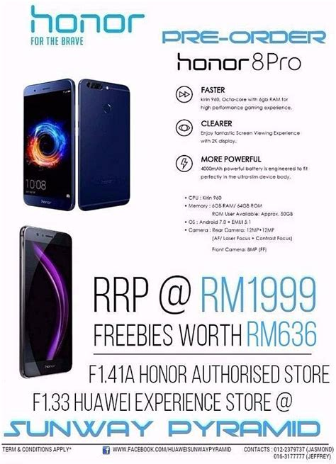 Pro Malaysia honor 8 pro now on pre order for less than rm2 000 in malaysia soyacincau