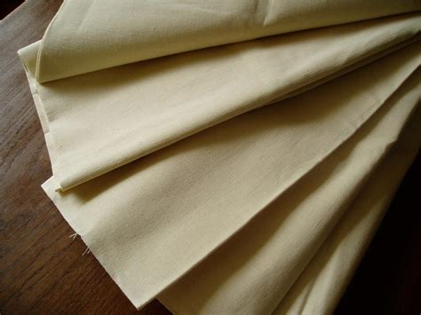 sheet fabric sold unused vintage french metis linen fabric material for