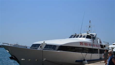 fast boat hvar to split new daily split brač hvar fast boat connection launches