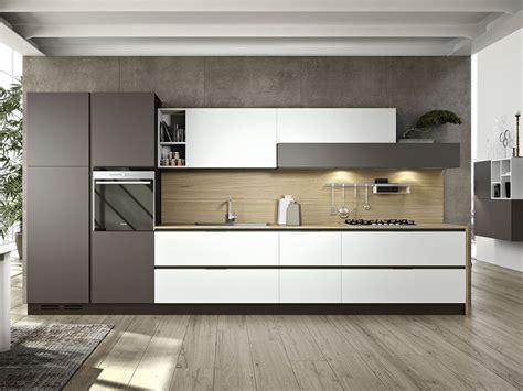 cucina milanese cucina lineare moderna in laccato opaco arredamento mobili