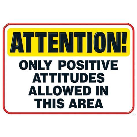 Living The Secret: Only Positive Attitudes Allowed