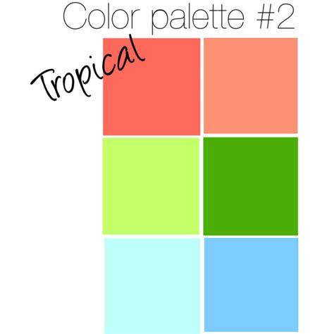 tropical colors 17 best images about tropical color palette on