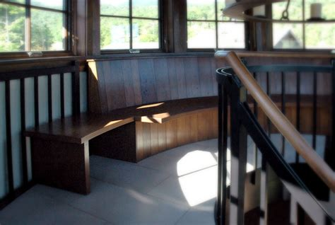 Custom Banquettes by Custom Banquettes And Benches From Vermont Furniture Makers