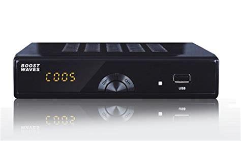 boostwaves digital converter box dvr p hdtv hdmi output  day program guide recording