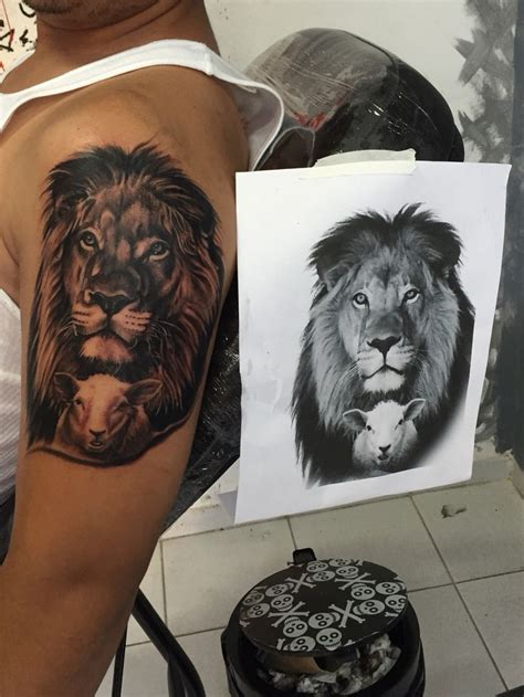 lion and lamb tattoo 25 best ideas about on