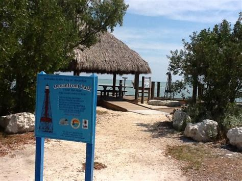 Tiki Huts On The Water In Florida shaded tiki huts on the water picture of oceanfront park marathon tripadvisor