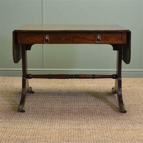mahogany sofa table antique quality regency mahogany antique sofa table
