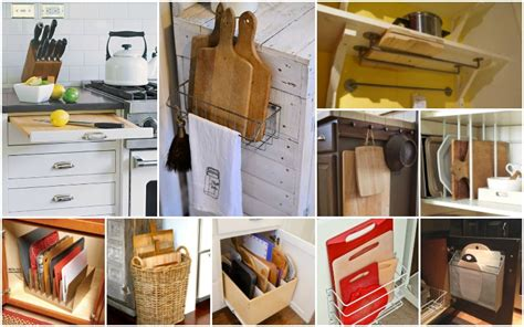 11 Clever Ways To Store Cutting Boards In The Kitchen