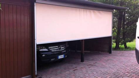 garage tenda tenda zip copri garage