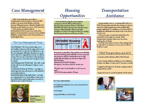 hiv aids brochure templates 15 best photos of free phlet on living with hiv