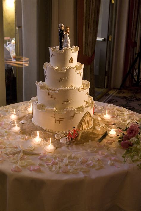 themed wedding cake weddings by