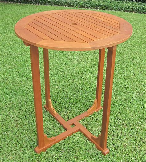 36 bar height table 36 inch bar height wood table in patio dining tables