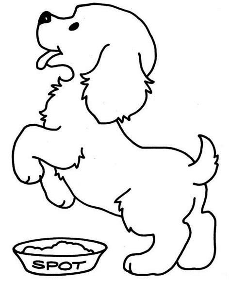 newborn puppy coloring pages