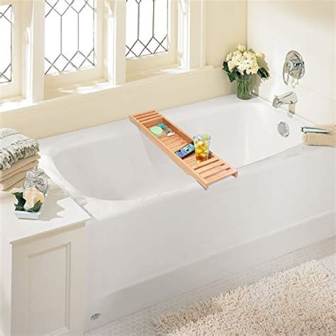 Wide Bathtub Caddy by Bamboo Bathtub Caddy Large Size Will Fit Tubs Up To 26