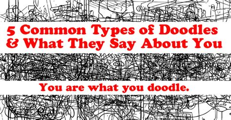 This Is What Your Doodles Say About Your Personality 5 Doodles And What They Ehow Extras