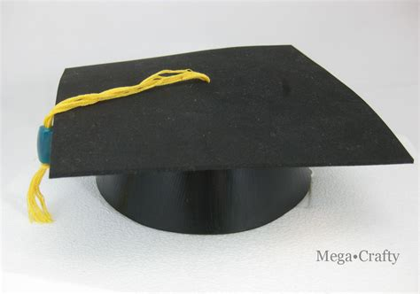 How To Make A Graduation Hat Out Of Paper - make a graduation cap from a birthday hat dollar