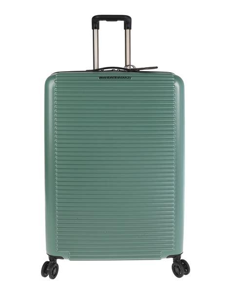 mandarina duck cabin luggage mandarina duck luggage in green modesens