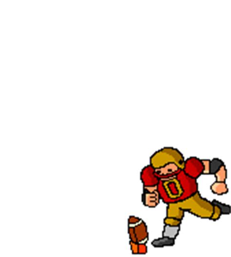 gif format clipart football player animations and moving clip art pictures of