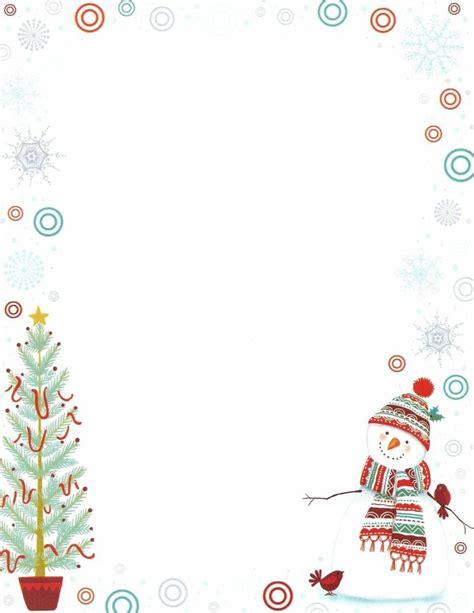 Kostenlose Vorlage Weihnachten 20 Kreative Vorschl 228 Ge F 252 R Thematisches Briefpapier Zu Weihnachten