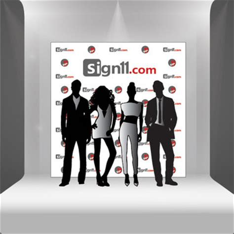Red Carpet Backdrop 8 X8 Sign11 Com 8x8 Step And Repeat Template