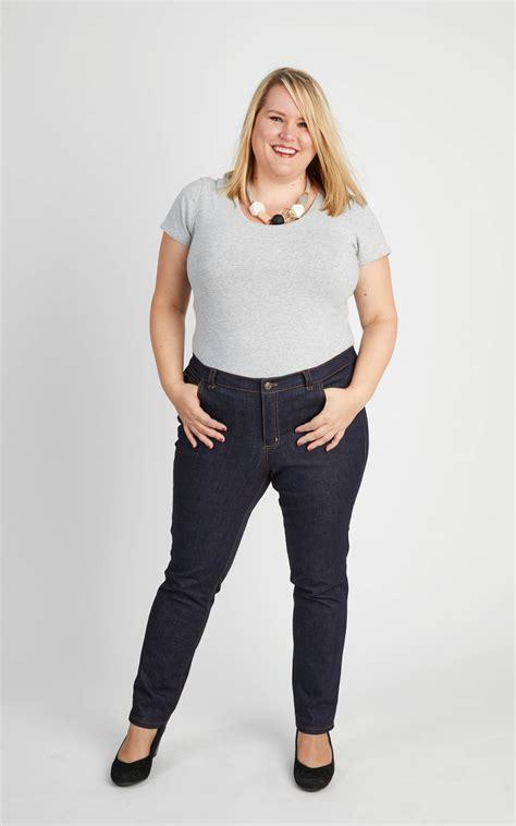 pattern jeans plus size ames jeans sewing pattern by cashmerette plus size