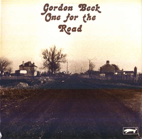 gordon beck gordon beck quot one for the road quot