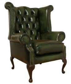 Leather Wingback Chair And Ottoman Design Ideas Green Library Sofa Large Scale Vintage Leather Wingback Chair And Ottoman Vandm Home