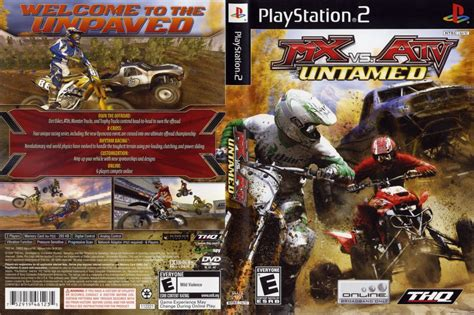 mx  atv untamed playstation  videogamex
