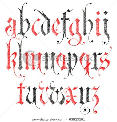 gothic tattoo alphabet font text alphabet gothic crafting of calligraphy