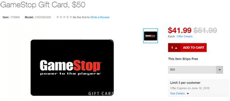 Gamestop Electronic Gift Card - 50 gift cards for 42 at staples gamestop petco applebees jiffy lube american