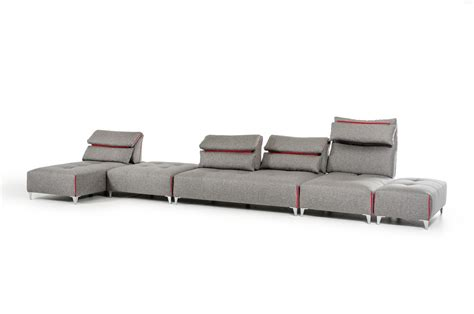 buy sofas with bad credit dark grey leather modern sectional sofa wadjustable