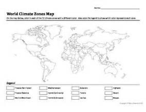 world climate zones map worksheet by marcy edwards tpt
