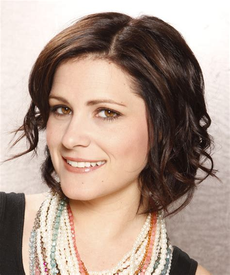 casual hairstyles for brunettes short wavy casual bob hairstyle dark brunette chocolate