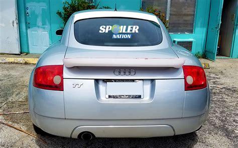 Audi Tt Tuner by 2000 2006 Audi Tt Tuner Rear Lip Spoiler