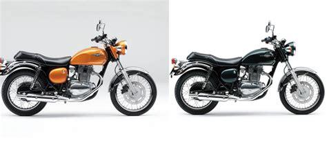 Mata Kucing Warna Gold Kawasaki Blitzkaze warna baru kawasaki estrella versi 2015 aura retro makin