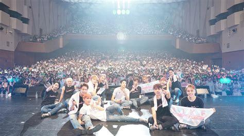 seventeen brings   fans  st japanese concert