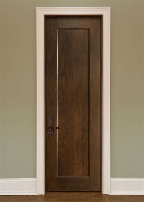 Handmade Oak Doors - custom solid wood interior doors traditional design