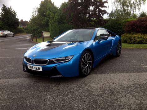 bmw supercar blue 2014 bmw i8 electric blue duel petrol electric i8 supercar