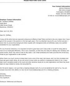 Bank teller resignation letter sample head teller cover letter jpg