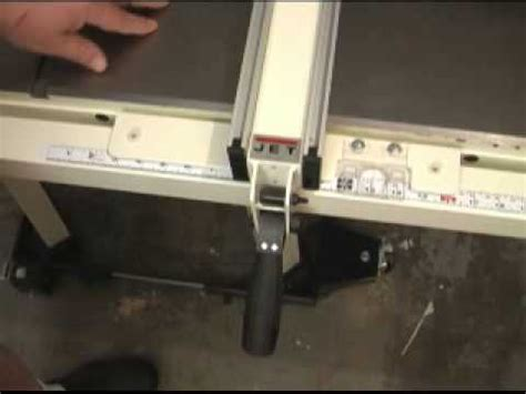 jet proshop table jet proshop table saw youtube