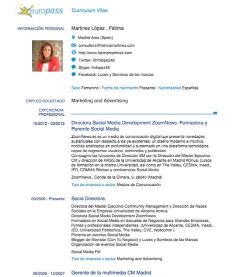 Modelo Curriculum Vitae Europeo Word Ingles C 243 Mo Elaborar Nuestro Curriculum En Pdf Infograf 237 A O V 237 Deo Utilizando Linkedin 171 Luces Y