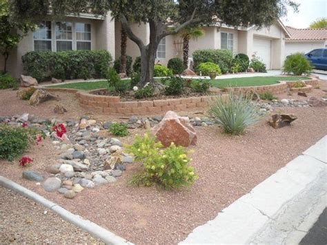 Desert Landscape Ideas For Backyards Backyard Desert Landscaping Ideas On A Budget Http Backyardidea Net Backyard Landscaping