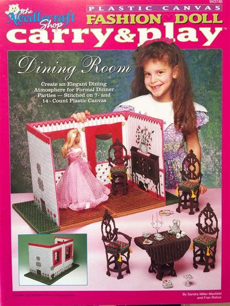 fashion doll rooms fashion doll carry and play dining room plastic