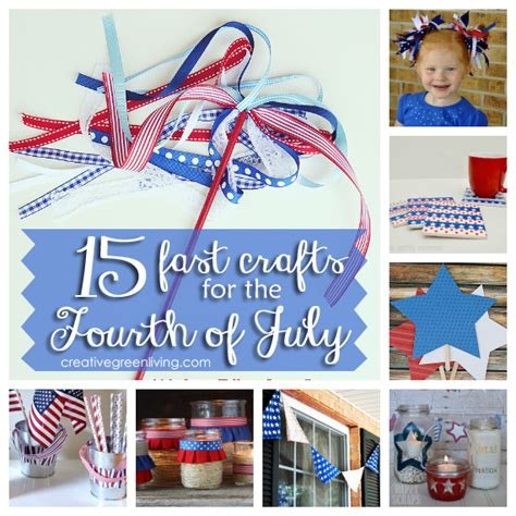 15 minute crafts for 15 fast crafts for the fourth of july that take 30