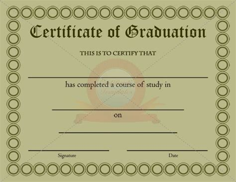 graduation certificate template 20 best images about graduation certificate templates on