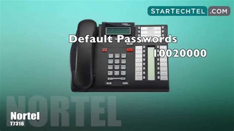 reset voicemail password meridian how to reset voicemail passwords on the nortel t7316 phone