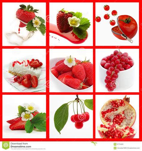 imagenes de verduras rojas frutas rojas
