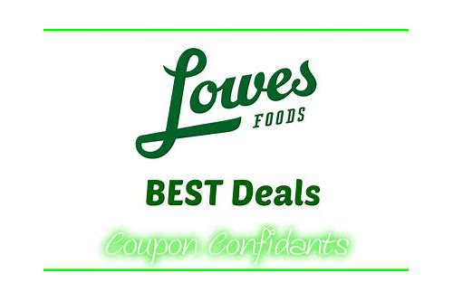 lowes foods to go coupon